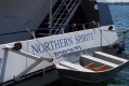 The Northern Spirit, location of Rob & Christi's wedding.